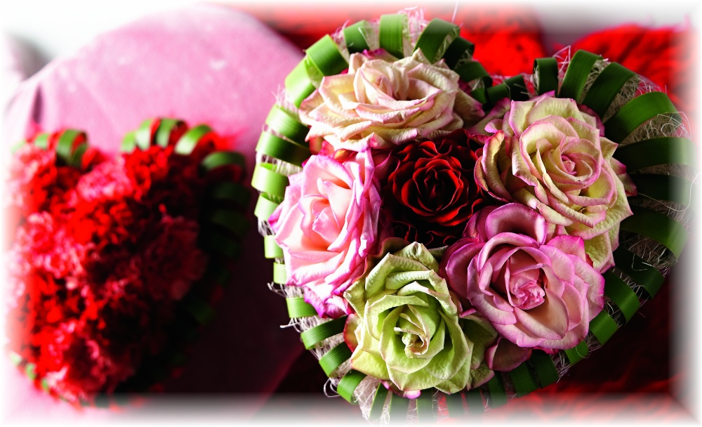 květinové srdce, foto HKK